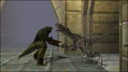 Turok 2 Seeds of Evil Enemies - Dinosoid Endtrail (9)