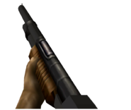 Turok Dinosaur Hunter - Auto-Shotgun Weapon Render (6)