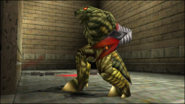 Turok 2 Seeds of Evil Enemies - Dinosoid Endtrail (29)