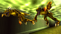 Turok 2 Seeds of Evil Enemies - Raptoid - Dinosoid (33)