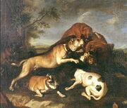 Bear-bating Abraham Hondius 1650-1-