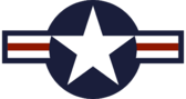 Roundel of the USAF svg