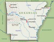 Arkansasmap
