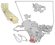 LA County Incorporated Areas Rolling Hills Estates highlighted svg