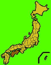 Shikoku map small