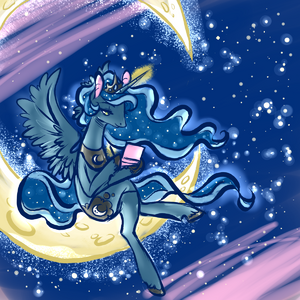 Princess luna oras training