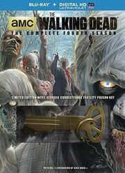 Walking Dead - The Complete Fourth Season Blu-ray - Walmart exclusive