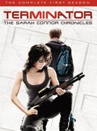 Terminator - The Sarah Connor Chronicles - The Complete First Season DVD