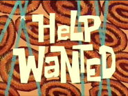 Help Wanted title