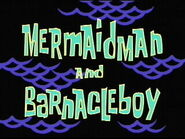 Mermaid Man and Barnacle Boy title