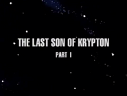 Last son of krypton part 1 title