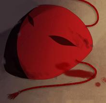 Crimson Moon mask