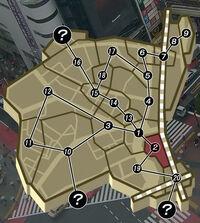 Shibuya Map - Statue of Hachiko