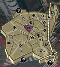 Shibuya Map - Tipsy Tose Hill