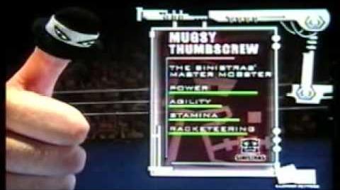 Thumb Wrestling Federation Gill vs Mugsy Thumbscrew