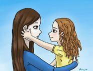 Bella and Renesmee by bendwater88