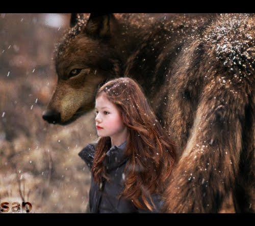 Renesmee and Jacon