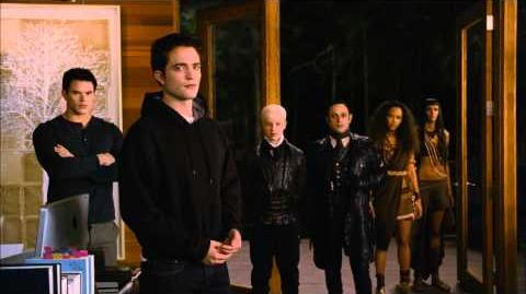 """Breaking Dawn Part 2 Movie Clip """"Who's With Me?"""" Official HD - Robert Pattinson"""