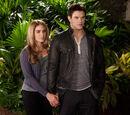 Emmett Cullen and Rosalie Hale