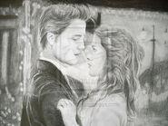 Edward and Bella by straydogg
