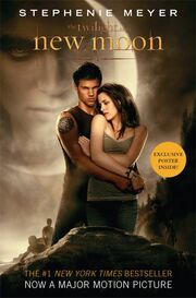 New Moon book cover (second)
