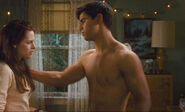 New Moon Bella's Bedroom scene Jacob Black