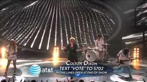 Colton Dixon Bad Romance - Top 7 Redux - AMERICAN IDOL SEASON 11
