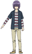 Shinnosuke anime design