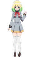 Mayura anime design