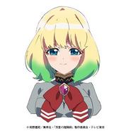 Mayura anime face design 1