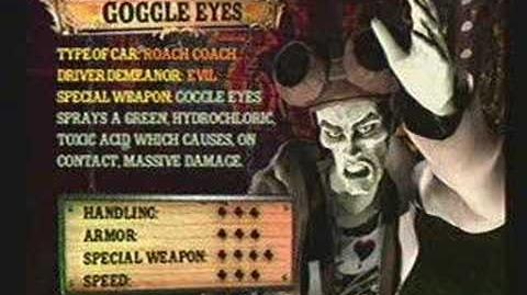 Twisted Metal 4 - Goggle Eyes' Info