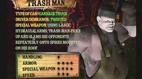 Twisted Metal 4 - Trash Man's Info