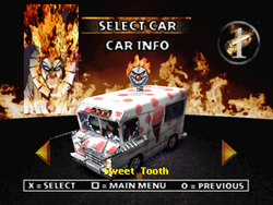 Twisted Metal 2 - Sweet Tooth