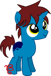 Thunder stormin colt blue by vinylbecks-d6ryc5v