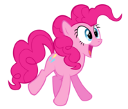 Pinkie pie gasp colour by originalcanadian-d4qnma3