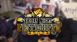 Friday Night Fisticuffs Title Screen Logo Garou