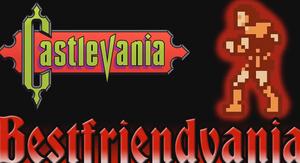 Castlevania NES Title Card