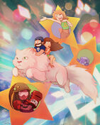 Super best friends universe by remainaery
