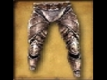 Leg Armour Powerful Warrior's Armored Trousers