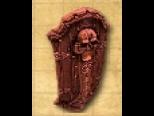 """File:Shield """"Deathshead"""" Wooden.jpg"""