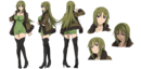 Reika Rikudou A-1 Pictures Fate Apocrypha Character Sheet1
