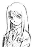 Kokutou azaka early sketch