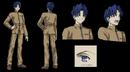 Shinji studio deen character sheet