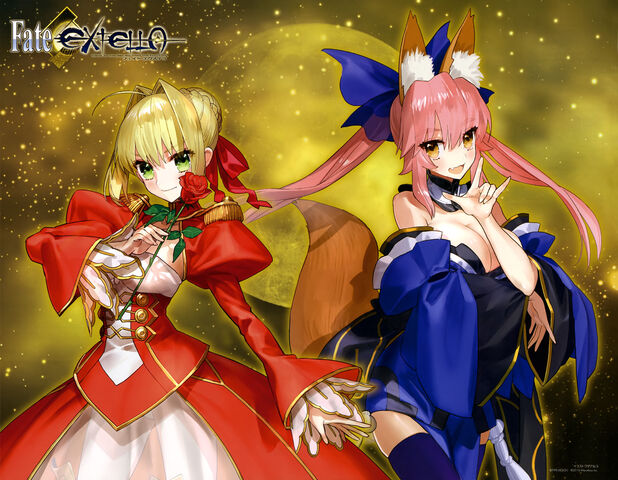File:Castor and Saber from fate-extella.jpg