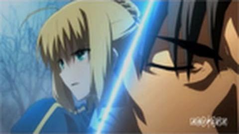 Fate Zero Kiritsugu Emiya & Saber Character Trailer 2