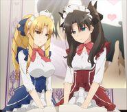 Luvia and rin maid