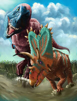 Daspletosaurus vs. Pentaceratops