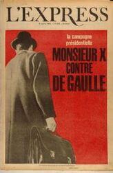 Mr X contre De Gaulle