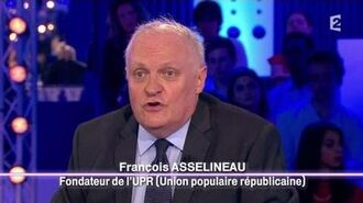 François Asselineau de l'Union Populaire Républicaine - On n'est pas couché 20 septembre 2014 ONPC
