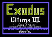 U3 Title Atari8bit